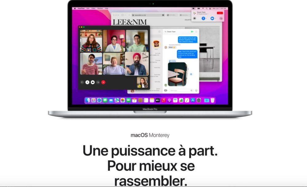 macOS Monterey Presentation Francais iOS 15, macOS Monterey et watchOS 8 : les nouveautés sont disponibles en français