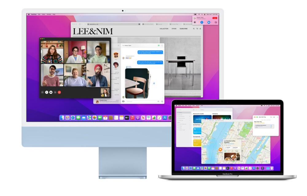 macOS Monterey WWDC 2021 Voici les fonctionnalités de macOS Monterey qui, selon Apple, sont indisponibles sur les Mac Intel