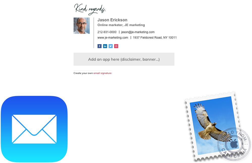 signature personnalisee mac iphone mac Comment ajouter une signature personnalisée avec Mail sur iPhone ou Mac ?