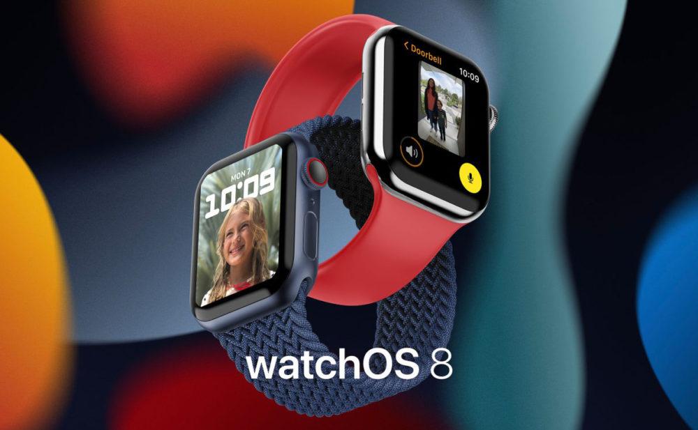 watchOS 8 Apple Watch Series 6 1 watchOS 8 : Apple rend disponible la bêta 3 publique