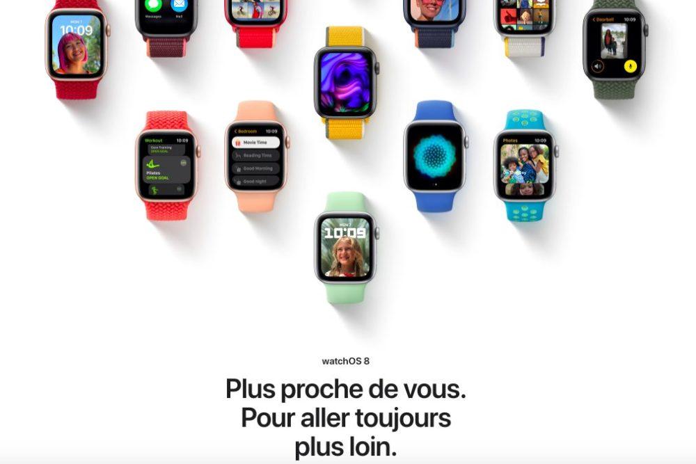 watchOS 8 Presentation Francais iOS 15, macOS Monterey et watchOS 8 : les nouveautés sont disponibles en français