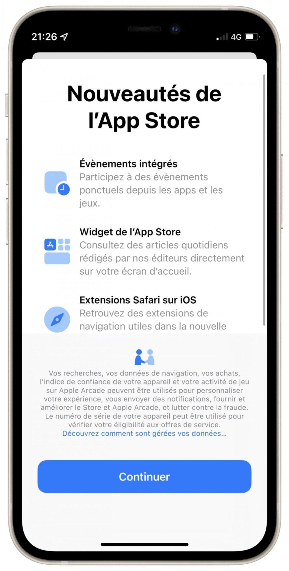 App Store iOS 15 Beta 3 iOS 15 et iPadOS 15 bêta 3 : la liste des nouveautés proposées par Apple