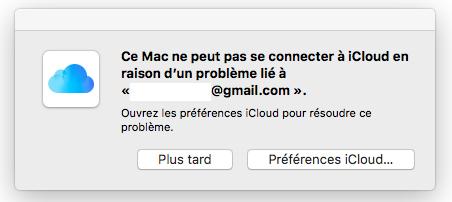 Apple Mail iCloud en Panne Apple annonce que le service Mail iCloud est en panne chez certains utilisateurs
