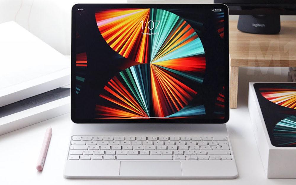Apple iPad Pro M1 Magic Keyboard Le premier iPad avec écran OLED devrait voir le jour en 2023