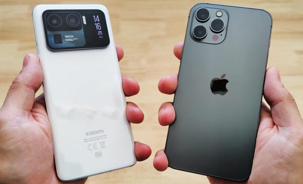 Xiaomi Mi 11 et iPhone 12 Pro Max Ventes de smartphones au 2e trimestre 2021 : Xiaomi a battu Apple et a pris la 2e place