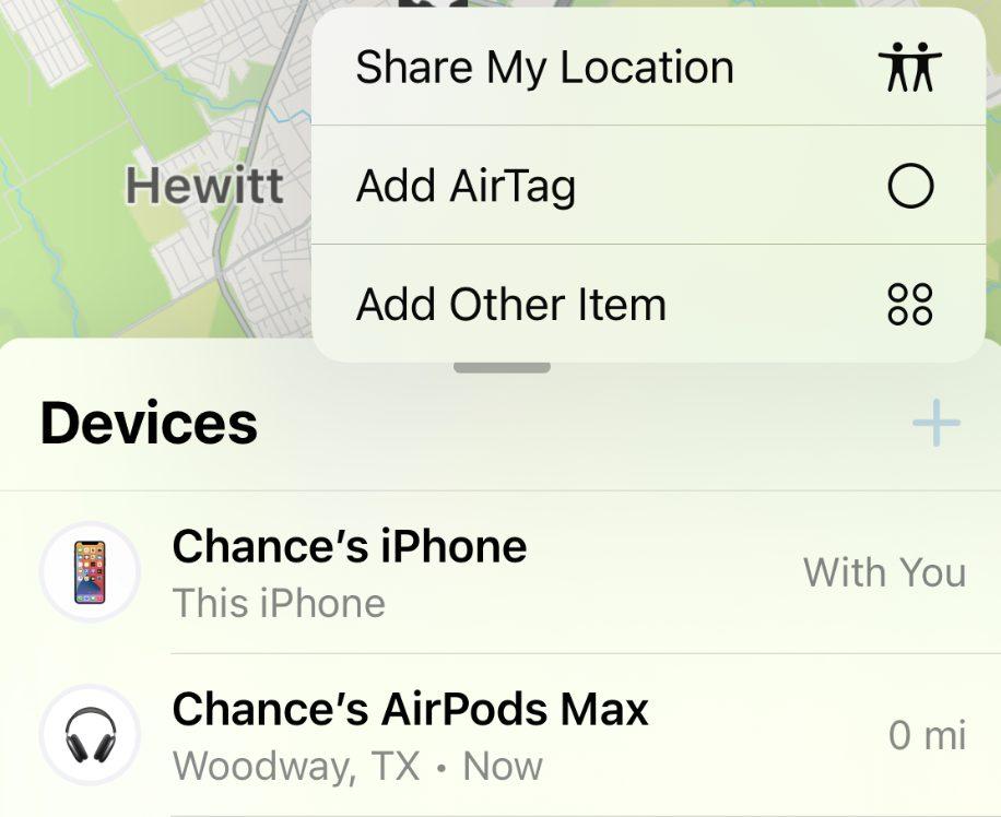 iOS 15 Beta 3 Nouveau Bouton Ajouter Appareil Localiser iOS 15 et iPadOS 15 bêta 3 : la liste des nouveautés proposées par Apple