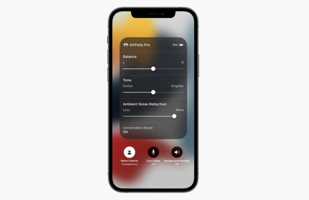 AirPods Pro Conversation Boost AirPods Pro : Apple ajoute Conversation Boost avec la 2e bêta du firmware