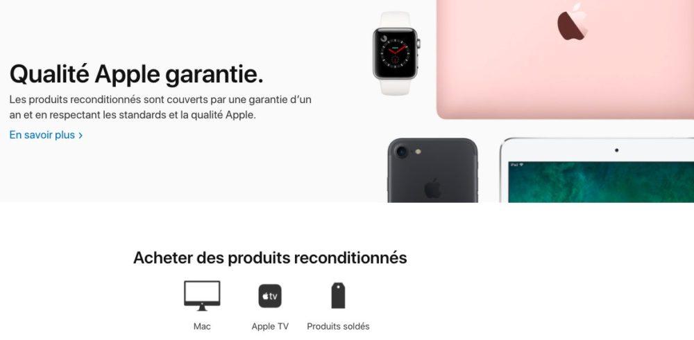 Apple Supprime Produits reconditionnes Refurb France La section des iPhone et des iPad sur le refurb en France est supprimée par Apple