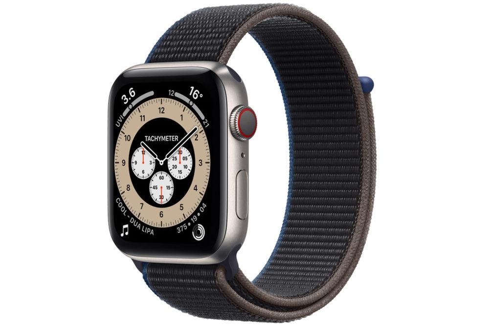 Apple Watch Series 6 En Titane Apple ne propose plus à la vente lApple Watch Series 6 en titane