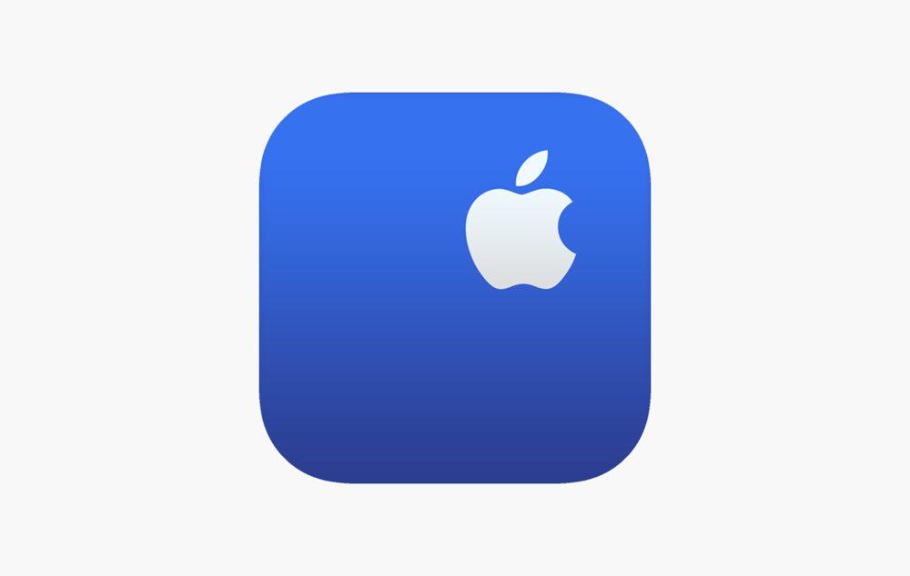 Application Assistance Apple Logo Une mise à jour pour lapp Assistance Apple : ajout des AirPods jumelés dans votre liste dappareils