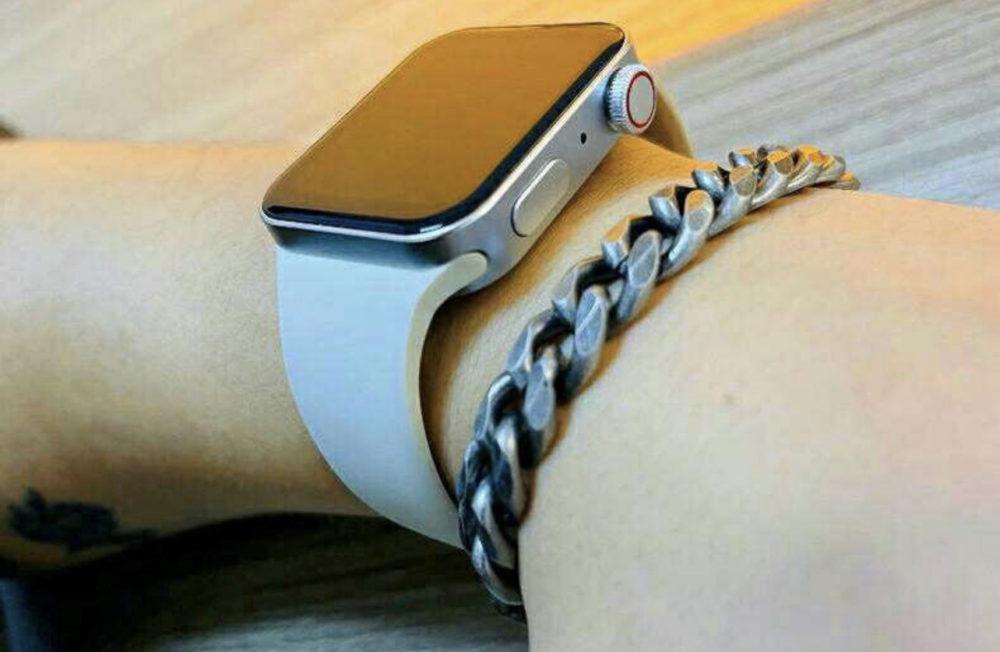 Apple Watch Series 7 : des clones dévoilent le nouveau design avec des bords plats