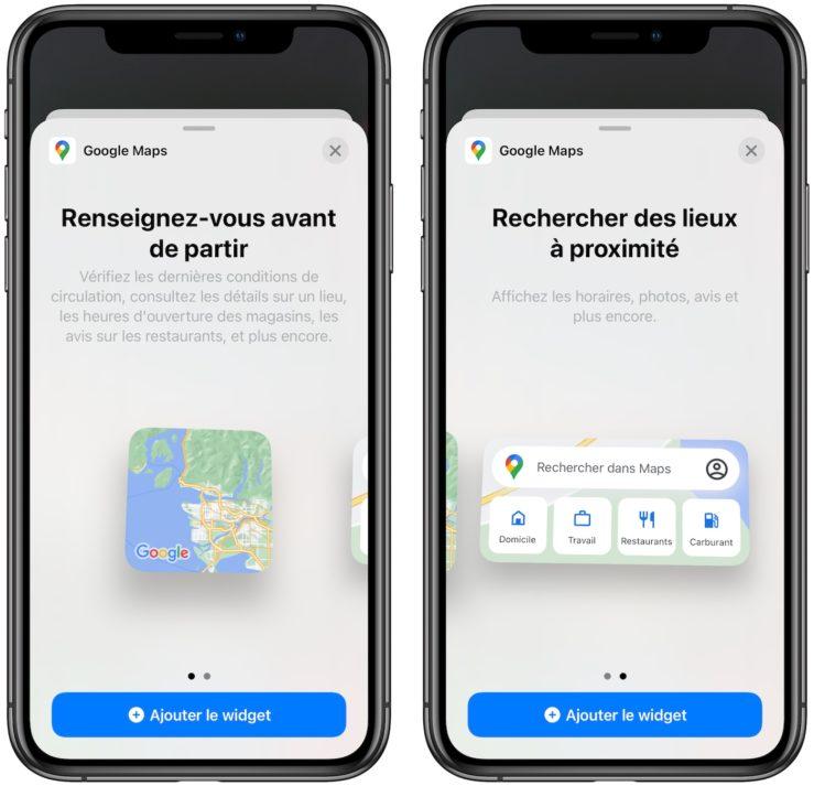 Google Maps proposera le mode sombre prochainement sur iPhone et iPad