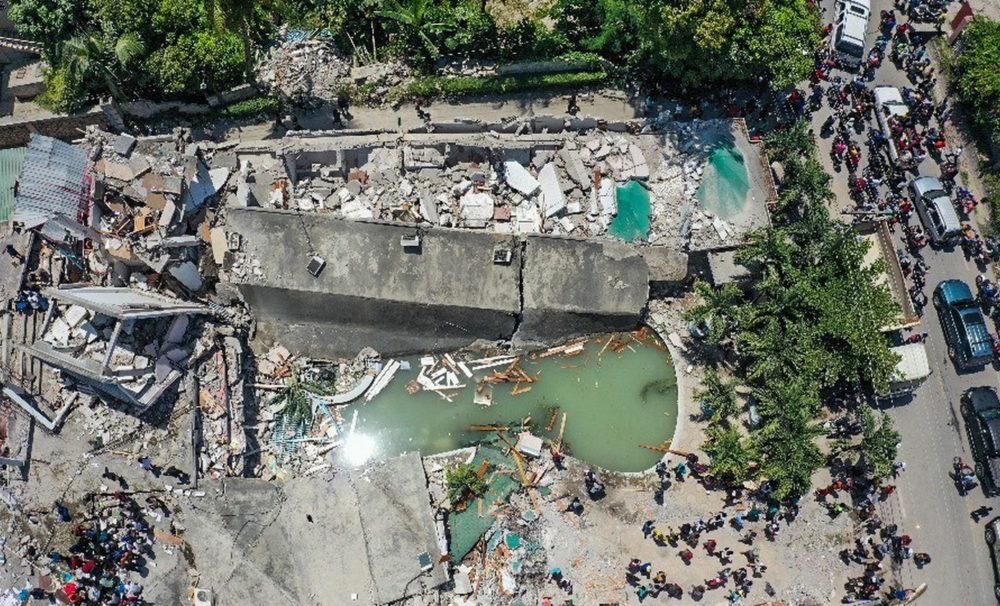 Haiti Tremblement de Terre Aout 2021 Tim Cook Don Tim Cook déclare quApple fera un don à Haïti après le séisme du samedi 14 août dernier