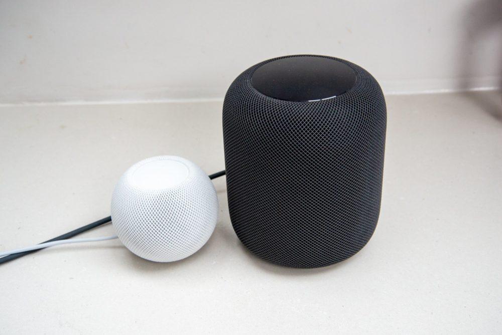 HomePod HomePod mini Apple travaille sur le support de lAudio Spatial et du Lossless sur le HomePod