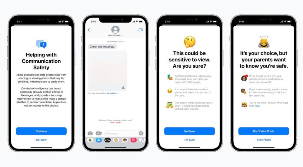 iMessage Message Images Sexuelles Lutte Apple Contre Pedopornographie Apple va scanner les photos des utilisateurs afin de lutter contre la pédopornographie