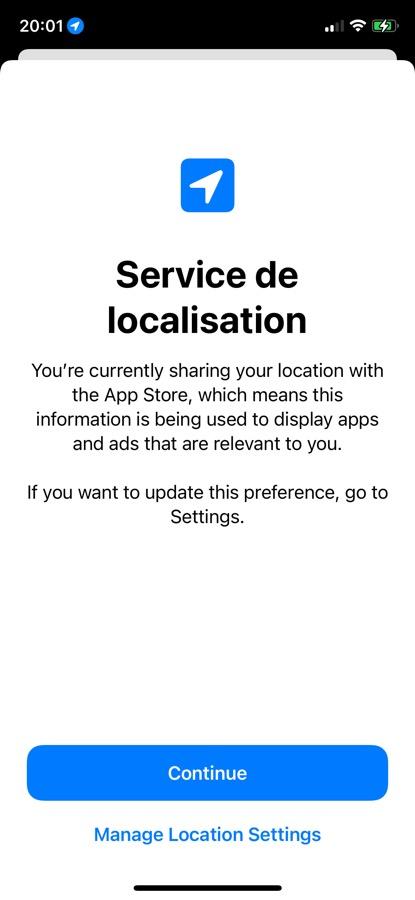 iOS 15 Beta 5 Pop Up App App Store iOS 15 et iPadOS 15 bêta 5 : voici la liste des nouveautés retrouvées