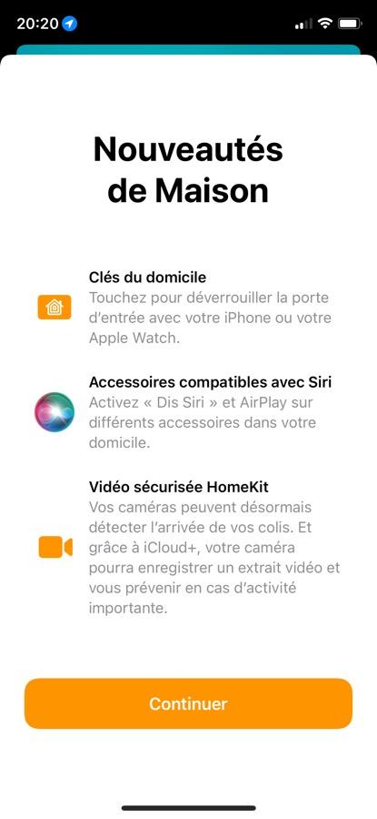 iOS 15 Beta 5 Pop Up App Maison iOS 15 et iPadOS 15 bêta 5 : voici la liste des nouveautés retrouvées
