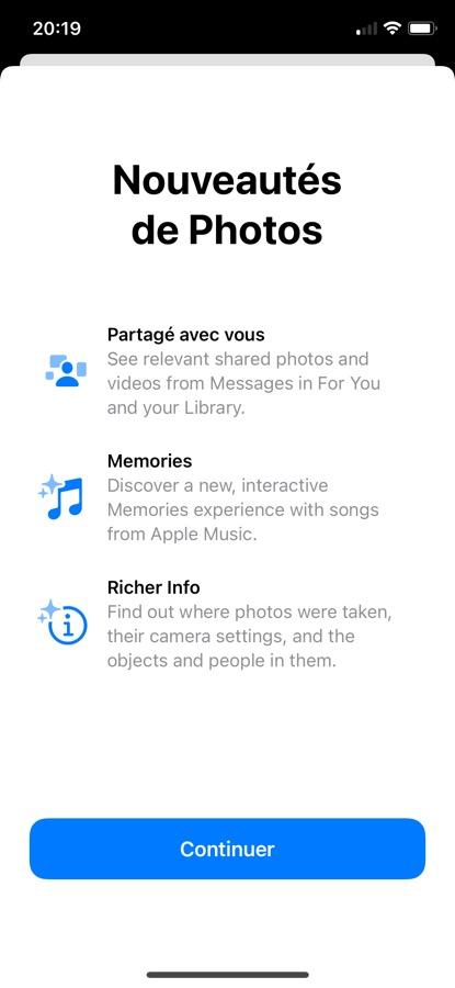 iOS 15 Beta 5 Pop Up App Photos iOS 15 et iPadOS 15 bêta 5 : voici la liste des nouveautés retrouvées