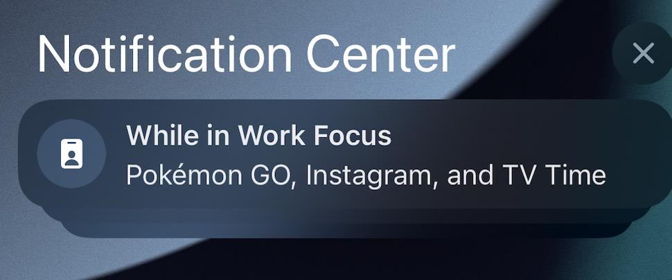 iOS 15 Icone Notifications Focus iOS 15 et iPadOS 15 bêta 5 : voici la liste des nouveautés retrouvées