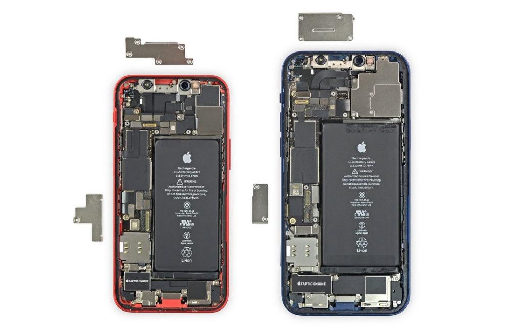 iPhone 12 et iPhone 12 Batterie Les iPhone, iPad et Mac auraient des circuits imprimés plus fins pour augmenter la taille de la batterie