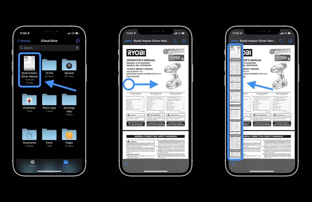 ios ipados 15 pdpf edit Comment éditer les PDF sur iPhone et iPad avec iOS 15 et iPadOS 15