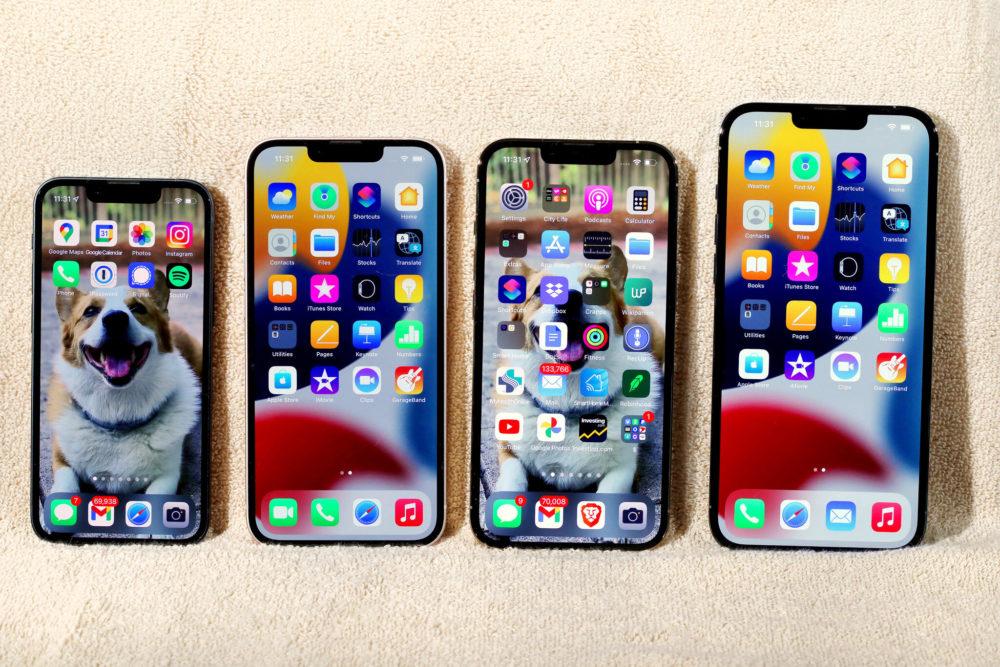 Apple 4 iPhone 13 Max Ecran Certains utilisateurs diPhone 13 et diOS 15 sont affectés par un bug avec lécran tactile