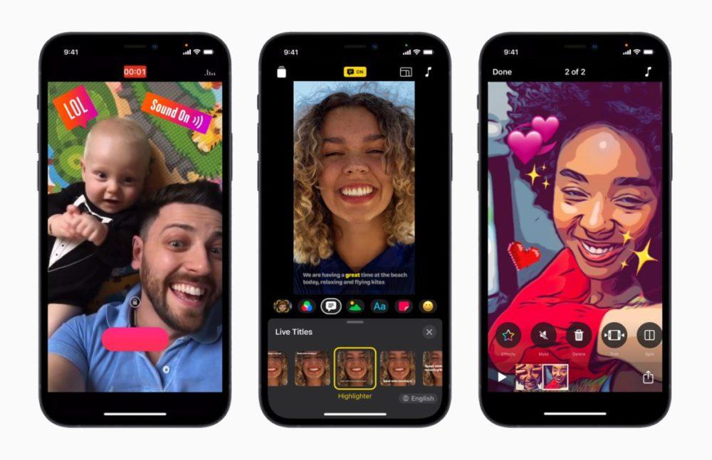 Apple Clips iPhone iMovie et Clips sont à jour : Apple ajoute le support du ProRes et du mode Cinématique des iPhone 13
