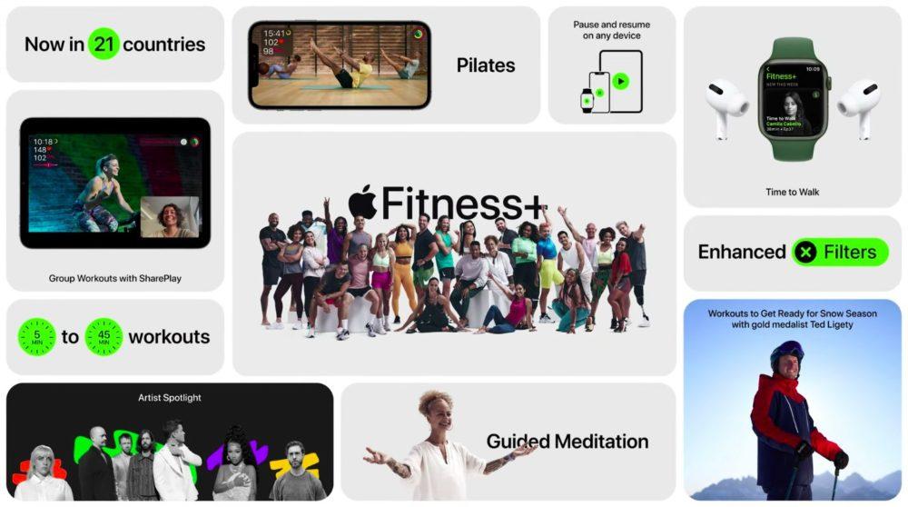 Apple Fitness Plus Nouveautes Apple Fitness+ fera son arrivée en France et dans 14 autres pays