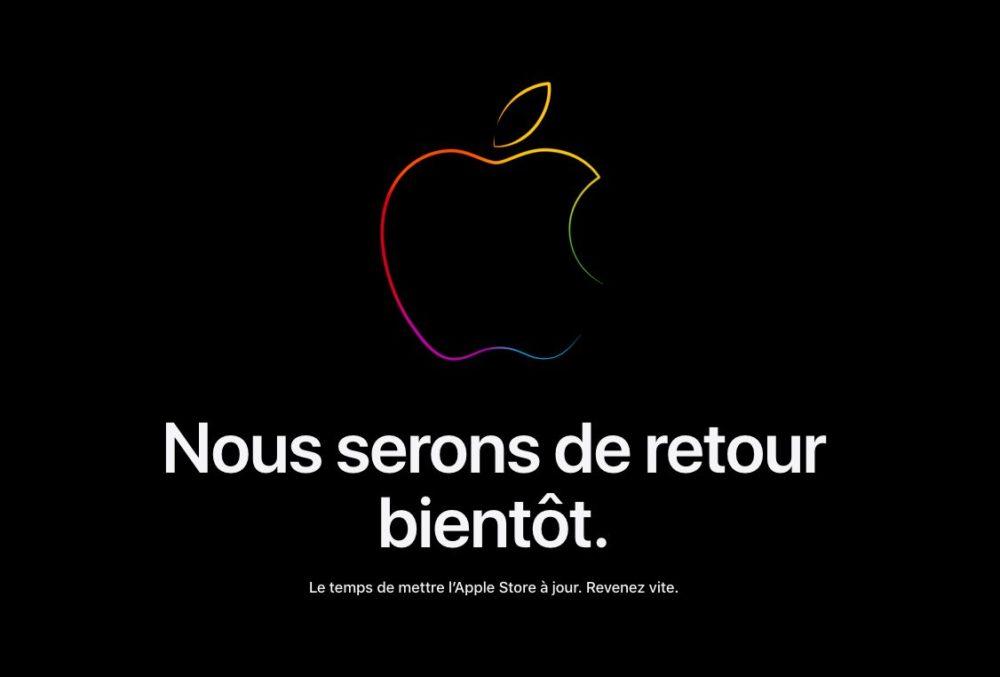 Apple Store Ferme ses Portes Keynote iPhone 13 Avant la keynote de liPhone 13, Apple ferme les portes de ses Apple Store en ligne