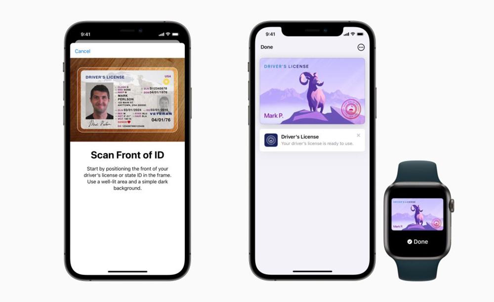 Apple Wallet ID Premiers Etats Eligibles Permis de conduire et carte didentité sur iPhone : voici les premiers États éligibles