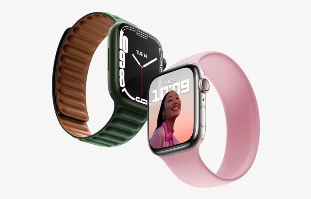 Apple Watch Series 7 Keynote 14 Septembre 2021 LApple Watch Series 7 est là : design inchangé, écran plus grand, clavier, nouvelles couleurs, recharge rapide...