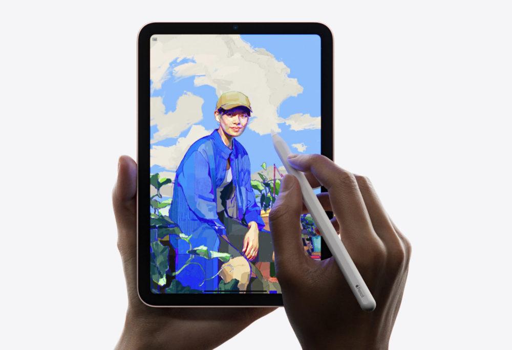 Apple iPad mini 6 Apple Pencil Un souci nommé effet élastique est rencontré sur liPad mini 6 lors du défilement de lécran