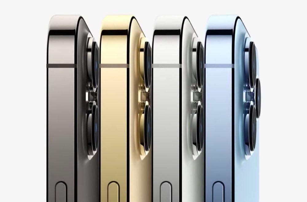 Apple iPhone 13 Pro iPhone 13 Pro Max Coloris Apple dévoile liPhone 13 Pro et 13 Pro Max : encoche réduite, affichage 120 Hz, puce A15, plus pour la vidéo...