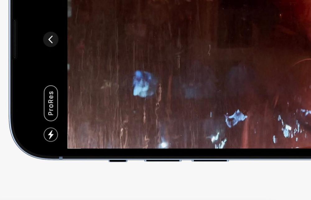 ProRes iPhone 13 Pro Apple indique que le ProRes de liPhone 13 Pro ne sera pas prêt au lancement