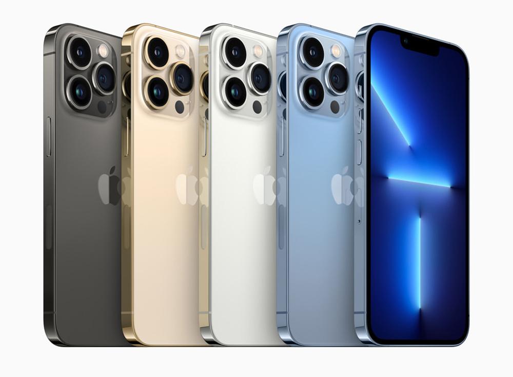iPhone 13 Pro iPhone 13 Pro Max Coloris Apple dévoile liPhone 13 Pro et 13 Pro Max : encoche réduite, affichage 120 Hz, puce A15, plus pour la vidéo...