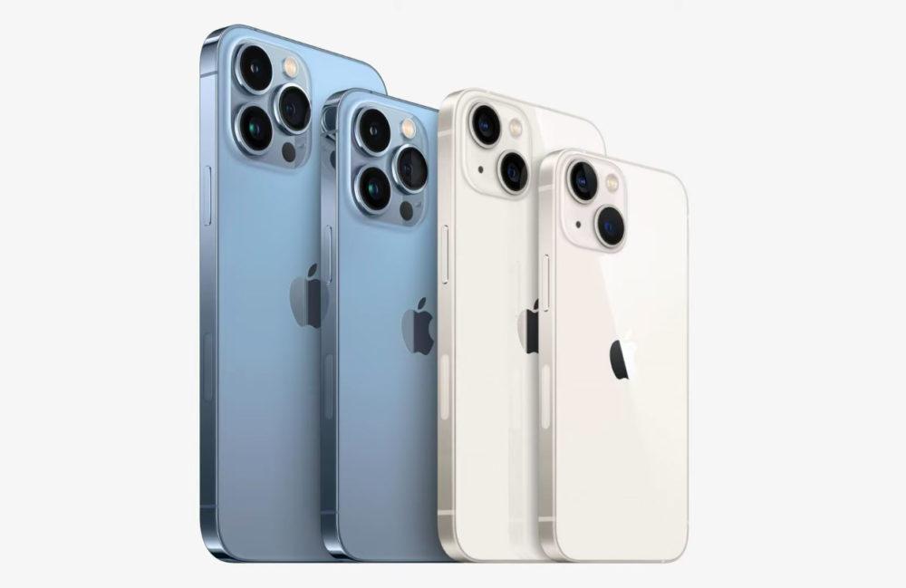 iPhone 13 Pro iPhone 13 Pro Max iPhone 13 iPhone 13 mini Apple a expédié les premiers iPhone 13/13 mini et iPhone 13 Pro/Pro Max