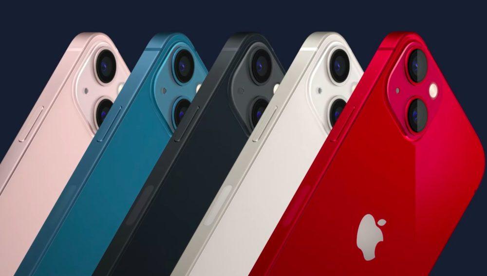iPhone 13 iPhone 13 mini Coloris Voici liPhone 13 et iPhone 13 mini : puce A15, encoche plus petite, Cinematic Mode pour la vidéo...