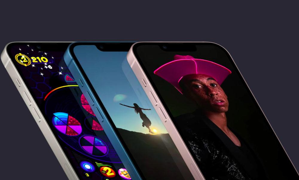 iPhone 13 iPhone 13 mini Ecran Encoche Voici liPhone 13 et iPhone 13 mini : puce A15, encoche plus petite, Cinematic Mode pour la vidéo...
