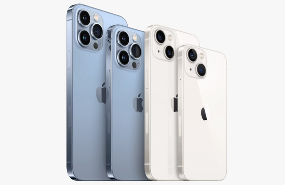 iPhone 13 mini iPhone 13 Pro Max Les iPhone 13, 13 mini, 13 Pro et 13 Pro Max supportent la double eSIM