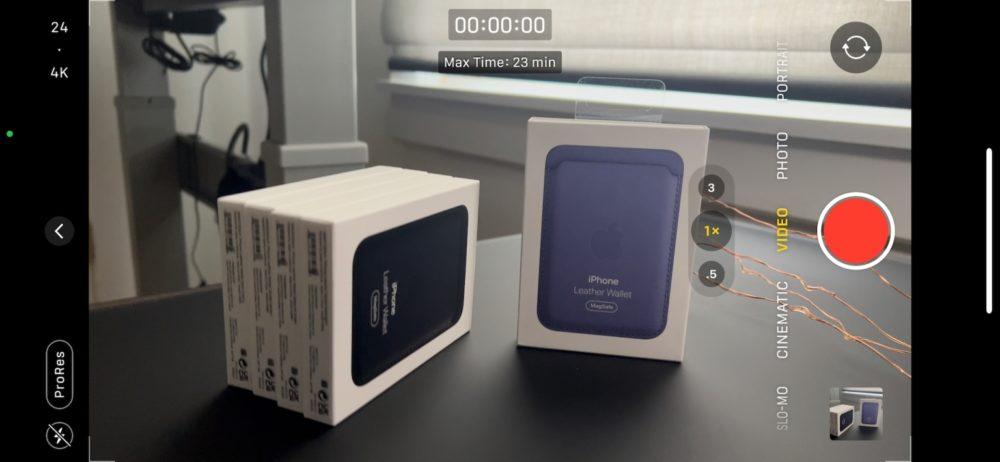 Le ProRes pour les vidéos des iPhone 13 Pro et 13 Pro Max est activé avec la bêta 3 diOS 15.1