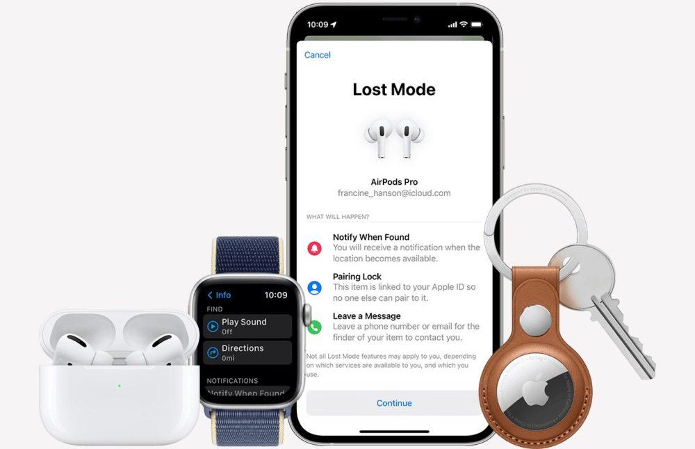 Reseau Localiser Apple Les AirPods Pro et AirPods Max supportent le réseau Localiser dApple