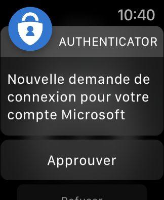 apple watch microsoft authentificator valider connexion Comment utiliser Microsoft Authentificator et se connecter avec sur iPhone, iPad et Apple Watch