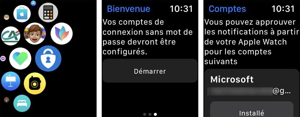 microsoft authentificator demarrage apple watch Comment utiliser Microsoft Authentificator et se connecter avec sur iPhone, iPad et Apple Watch