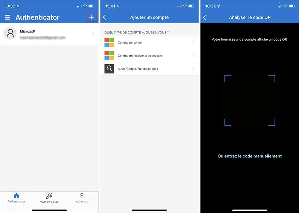 microsoft authentificator iphone ajout compte Comment utiliser Microsoft Authentificator et se connecter avec sur iPhone, iPad et Apple Watch