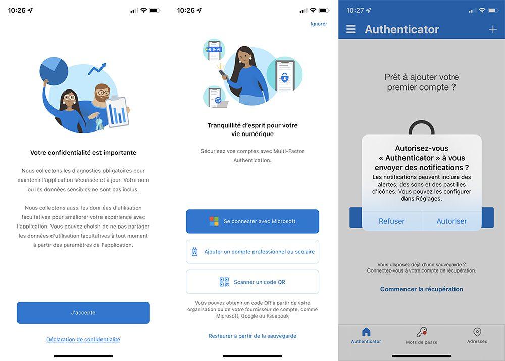 microsoft authentificator iphone demarrage Comment utiliser Microsoft Authentificator et se connecter avec sur iPhone, iPad et Apple Watch
