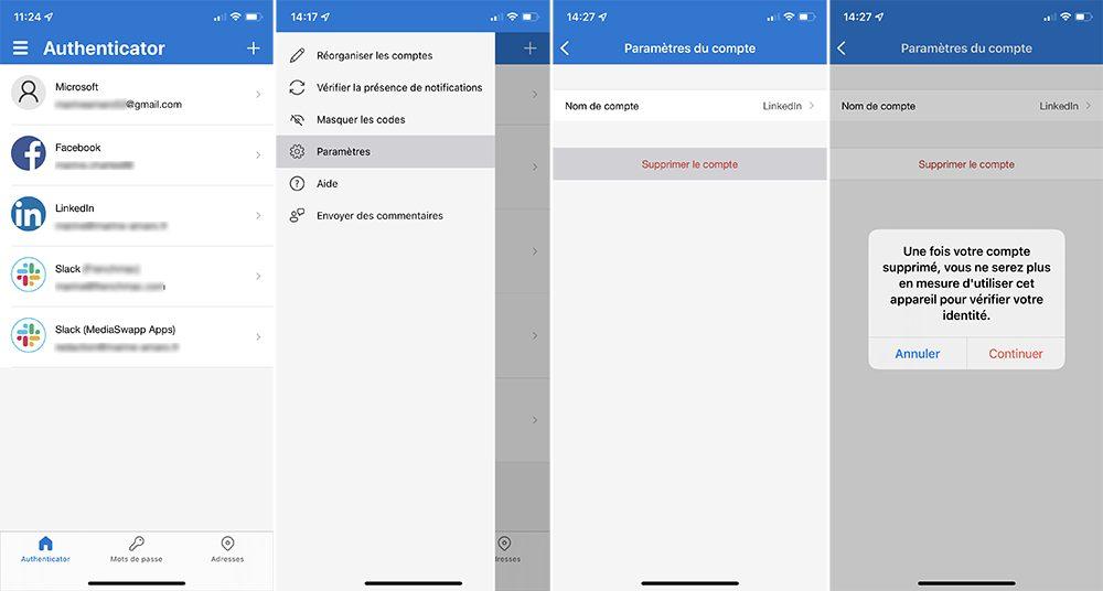 microsoft authentificator supprimer compte Comment utiliser Microsoft Authentificator et se connecter avec sur iPhone, iPad et Apple Watch