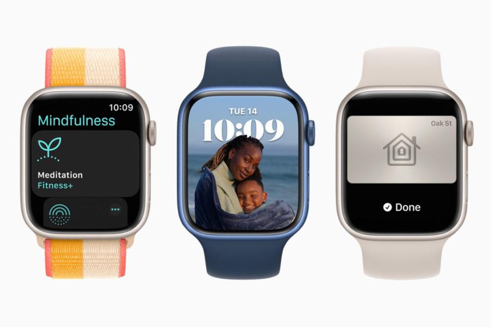 watchOS 8 Apple Watch Series 7 Apple Watch Series 7 : certains modèles seront livrés en novembre